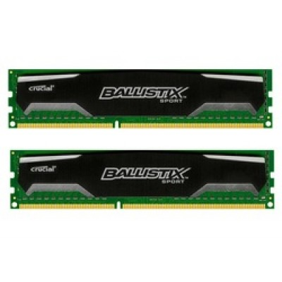 Crucial Ballistix Sport 8GB DDR3-1600MHz (BLS2CP4G3D1609DS1S00CEU)