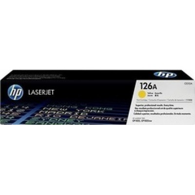 HP 126A Yellow Toner (CE312A)