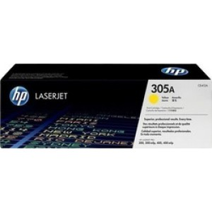 HP 305A Yellow Toner (CE412A)