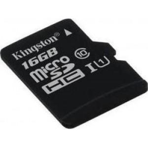 Kingston microSDHC 16GB U1 (45MB/s)