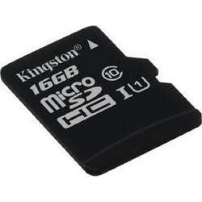 Kingston microSDHC 16GB U1 (45MB/s)