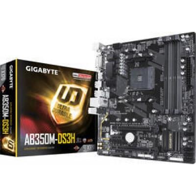 Gigabyte AB350M-DS3H (rev. 1.x)