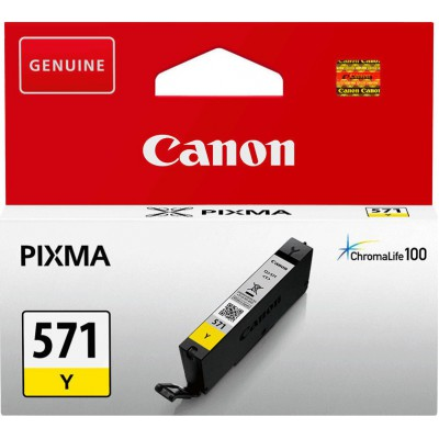 Canon CLI-571Y Yellow (0388C001)