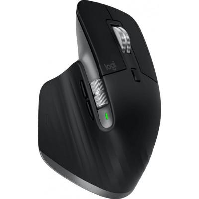 Logitech MX Master 3 for Mac Ασύρματο Bluetooth Ποντίκι Black
