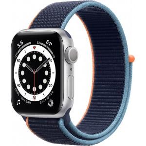 Apple Watch SE Aluminium Cellular 40mm (Silver & Deep Navy Sport Loop)