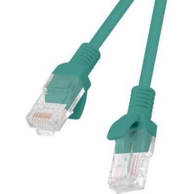 Lanberg U/UTP Cat.5e Cable 1,5m Πράσινο