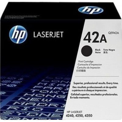 HP 42A Black Toner (Q5942A)
