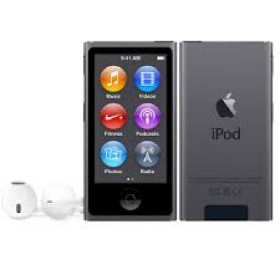 Apple iPod Nano 16GB 7th Generation 2015 Space Grey