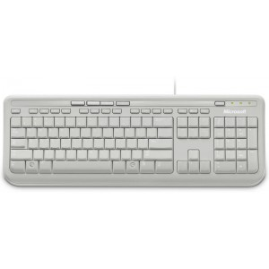 Microsoft Wired Keyboard 600 White (ANB-00031)